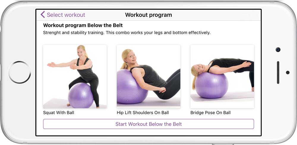 Poworkout Screenshot Program